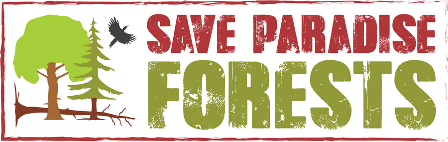 Logo Save Paradise Forests